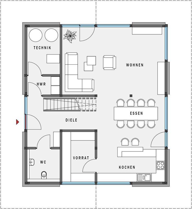 Das Energiekonzept Von HUF Haus Modum: Entspricht Der KfW Klassifizierung  Effizienshaus Diesen Hohen Standard Gibt Es Ohne Aufpreis.