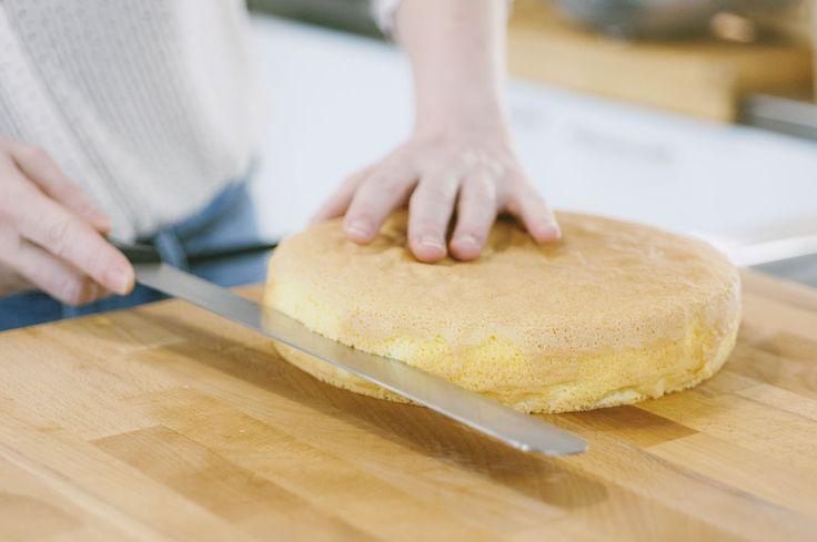Come tagliare il pan di Spagna