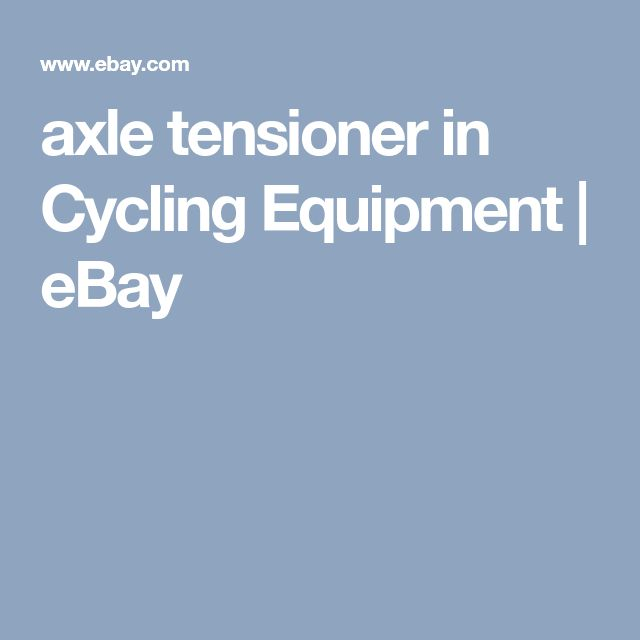 axle tensioner in Cycling Equipment | eBay