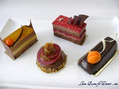Look at hese petit gateaux   Savour Chocolate and Patisserie School  website  22 Wilson Avenue,  Brunswick, VIC, 3056  AUSTRALIA