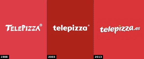 Nueva imagen de marca comercial de Telepizza