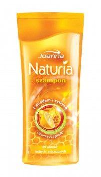 Dla nawilżenia i wygładzenia Twoich włosów - szampon miodowo-cytrynowy Naturia.