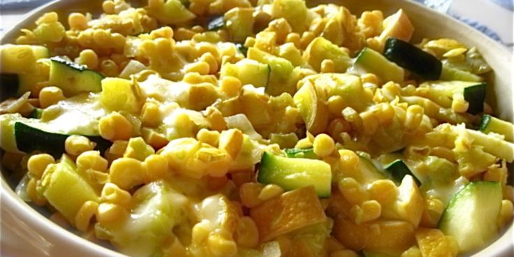 Calabacitas Con Queso And Chile Verde Squash With Cheese And Gr Recipe - Genius Kitchen