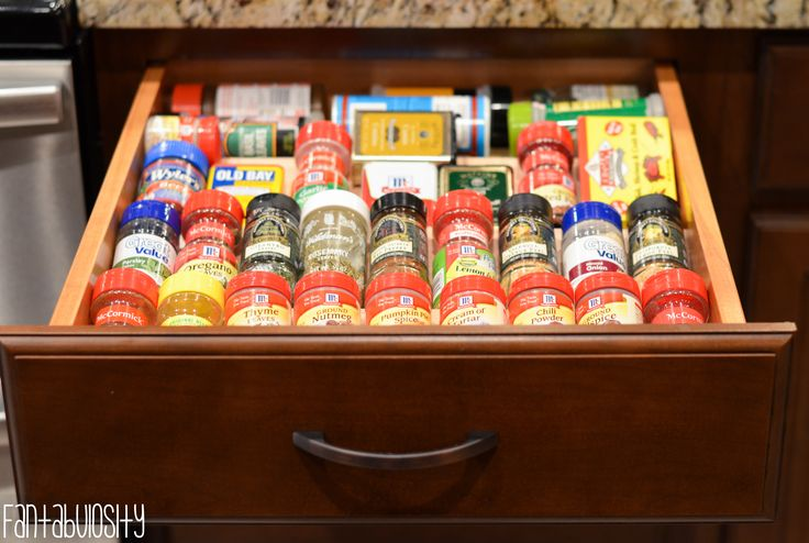 Spice Rack Organizer: This is brilliant!  Part 4 of her craftsman home tour! http://fantabulosity.com