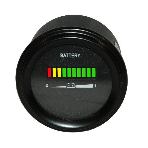 Pro48rc 48 Volt Ezgo Battery Indicator  Meter