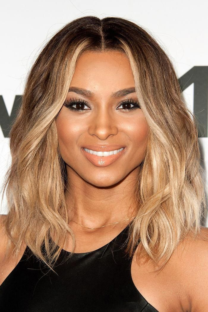 Balayage Short Hair Ciara With Blonde Bob Shorthairbalayage In 2020 Short Hair Balayage Thick Hair Styles Medium Medium Hair Styles