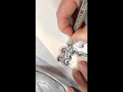Cadent Variation Tangle/Doodle