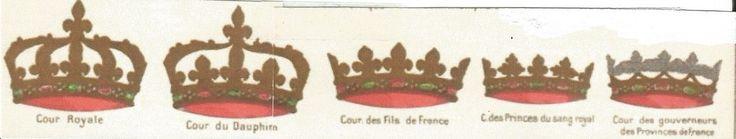 Royal coronets de France