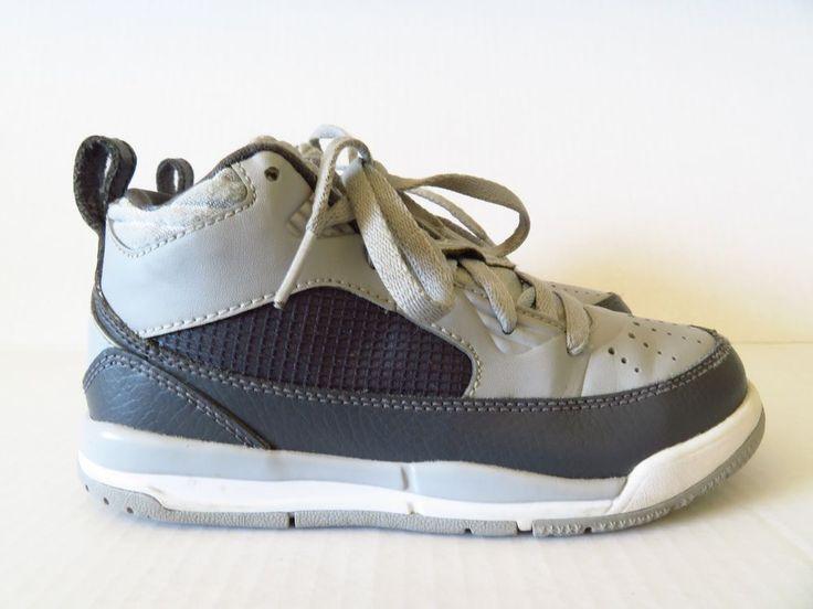 Nike Jordan Flights 9.5 in Wolf Gray/White Size 12C (Little Kids)  | eBay