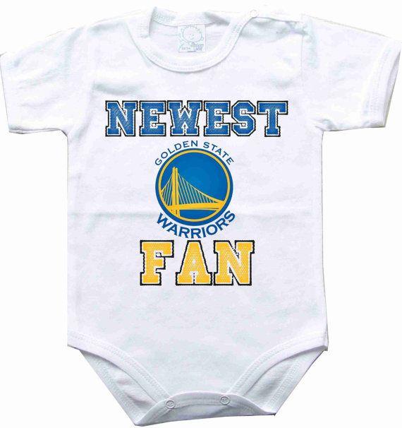Baby bodysuit Newest fan Golden State Warriors NBA by sportFanBaby