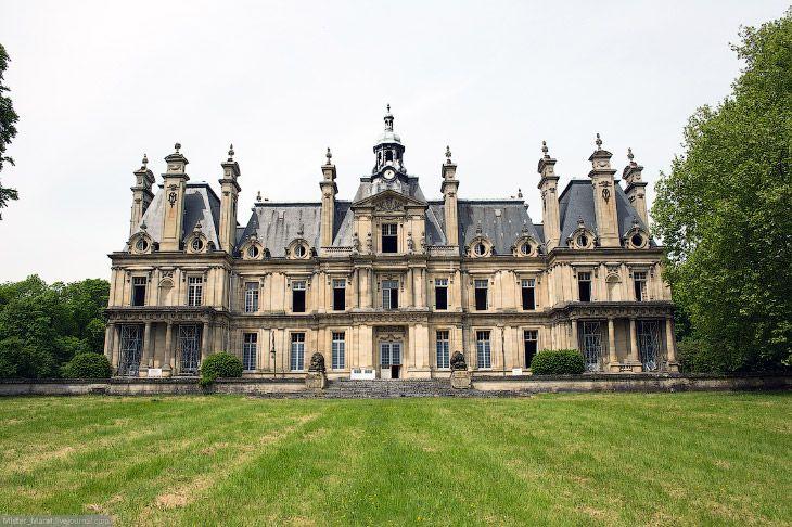 Заброшенные замки Франции. Замок Люмьер