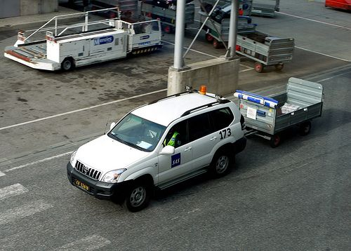 """(Posted from tinymachining.com)  Check out these grinding services images: Oslo Airport – Norway  Image by Mic V. SAS ground services' Toyota Land Cruiser MkIII (Prado) with trailer. Used on Norwegian Wikipedia page for """"Vehicle registration plates of...  Read more on http://www.tinymachining.com/nice-china-grinding-services-photos/"""