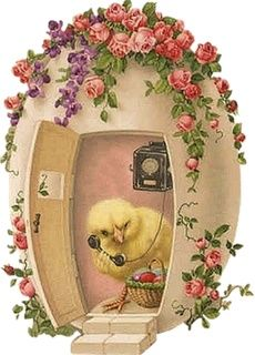 (via Calling mom…Vintage card ❤ | Easter Parade ❤ | Pinterest)
