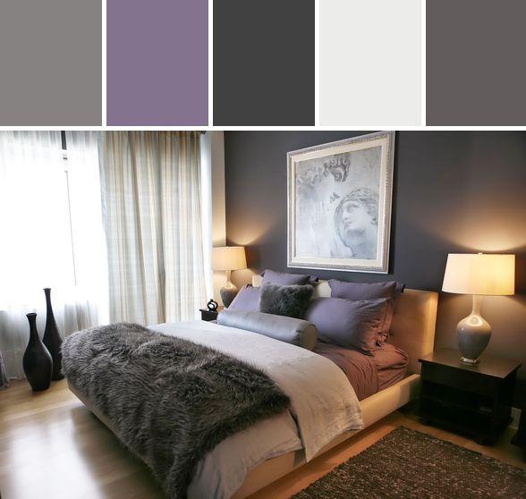 Best 25 Purple grey bedrooms ideas on Pinterest Purple grey