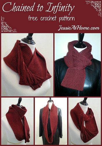 Chained to Infinity free crochet pattern by Jessie At Home