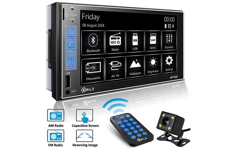 Top 10 Best Car Stereos With Bluetooth, GPS and Backup