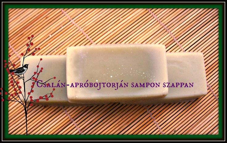 Csalán-Apróbojtorján Samponszappan