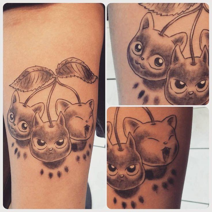 25 beste idee n over tatouage noir et blanc op pinterest gevoelde kunst witte tatoeages en - Tatouage chat noir ...