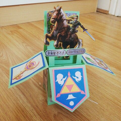 The Legend Of Zelda Birthday Card