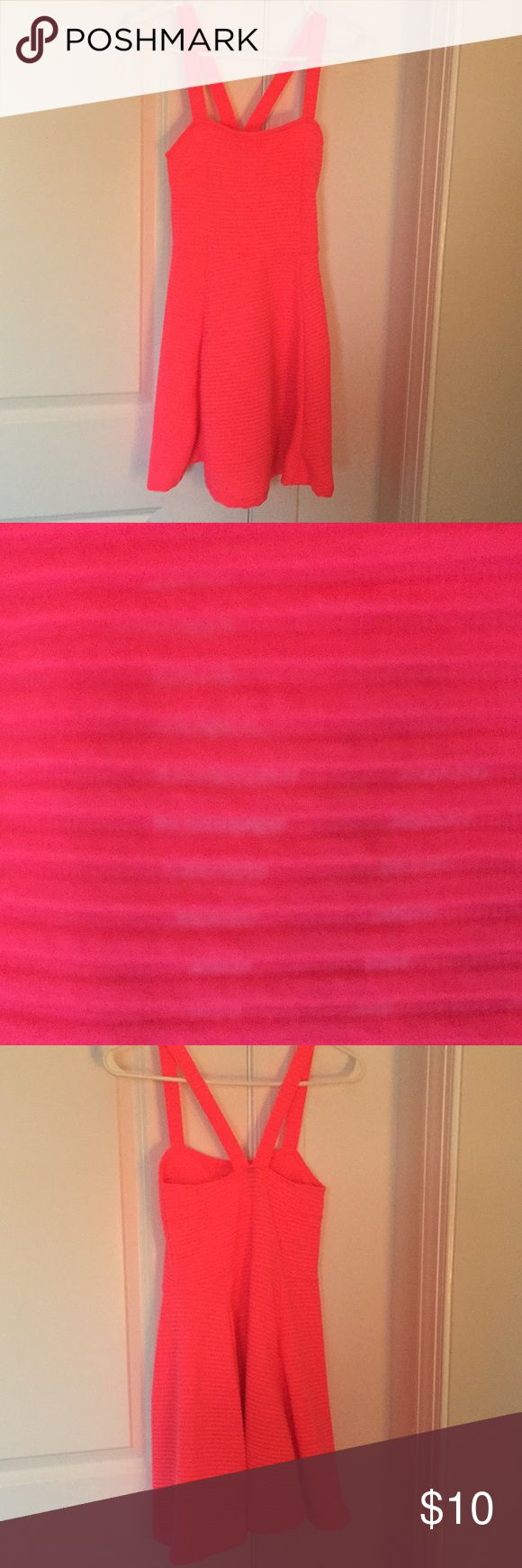 Neon pink dress Size XS Neon pink dress Size XS. Very comfortable and fun Divided Dresses Mini