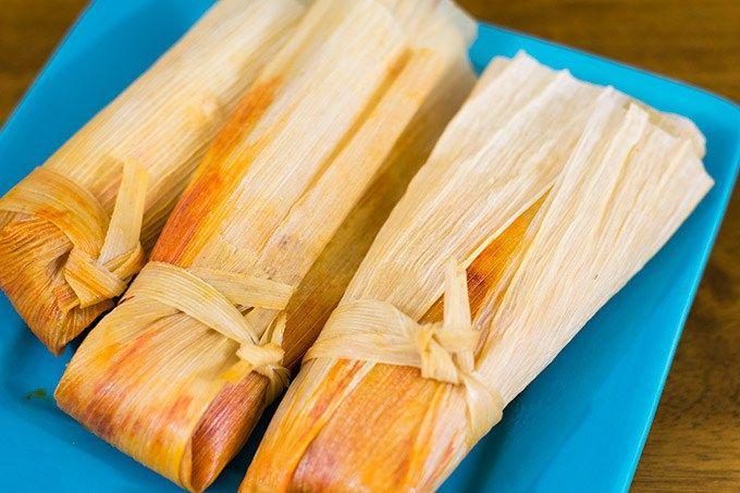3 pork tamales #tamales #porktamales