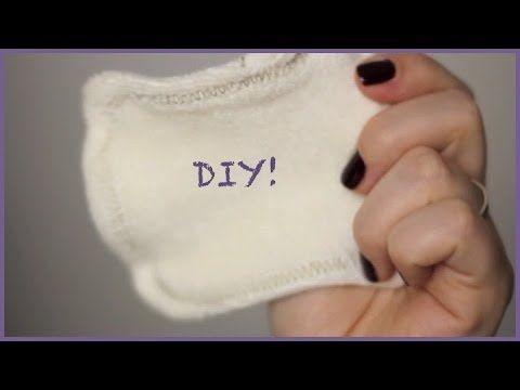 DIY: cotons lavables en machine (Do It Yourself / Fait le toi même) - YouTube