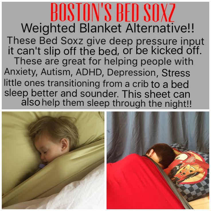 Sensory bed sheet, compression sheet, deep pressure input, anxiety, autism, Pddnos