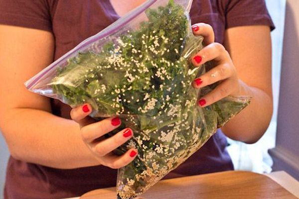 Kale Chips Recipe - Flavored Vegetable Chip Recipes... Good ones: sesame + soy (liquid aminos), salt + vinegar (add 2 tsp acv), lime + chili