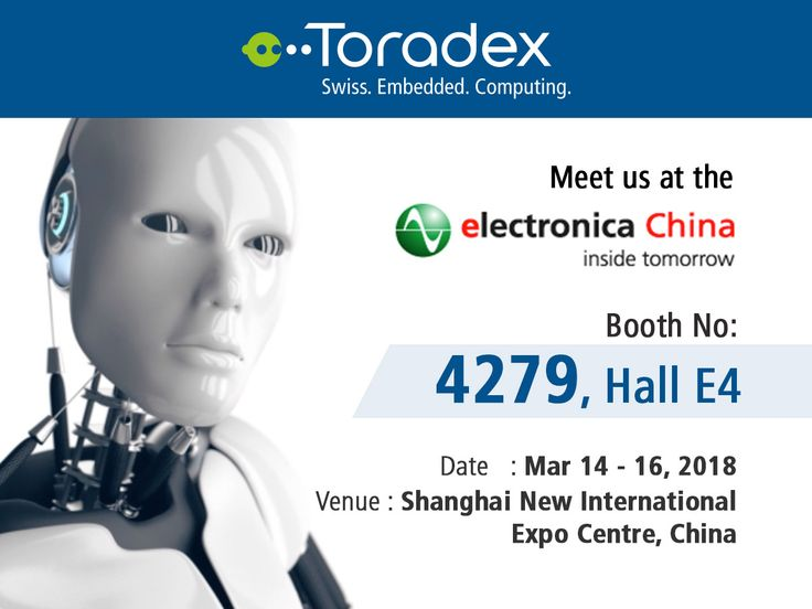 If you're in Shanghai this week, don't miss meeting us at the Electronica China 2018, from March 14-16! Drop by booth #4279, Hall E4, to connect with our engineers, we've got new products, engaging demos, and much more. See you there!