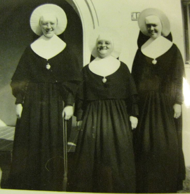 "Sisters of The Holy Cross: That one in the middle looks like ""Vicious Aloysius"