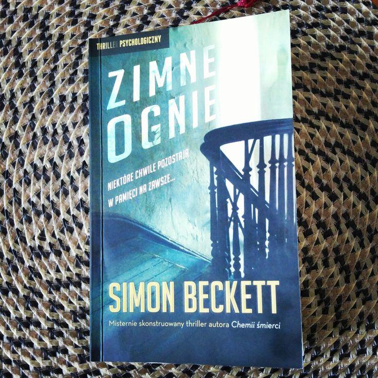 """""""Zimne Ognie"""" porywający thriller psychologiczny Simona Becketta 📖 #ZimneOgnie #SimonBeckett #WhereThere'sSmoke"""