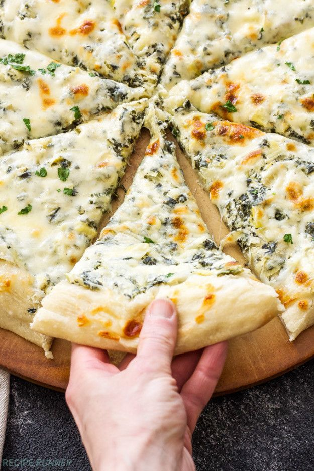 ... and Artichoke Dip Pizza | Just Basically A Love Note To Chicken And