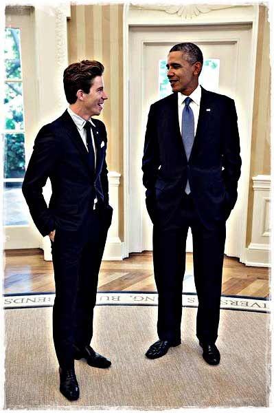 Величайший сноубордист - Шон Уайт и президент США - Барак Обама!