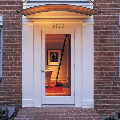 Glass Entry Door Brick Home Design, Pictures, Remodel, Decor and Ideas - page 3