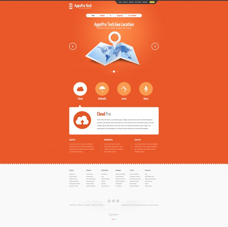 Buon template Joomla http://demo.gavick.com/joomla16/mar2012/ #joomla #template