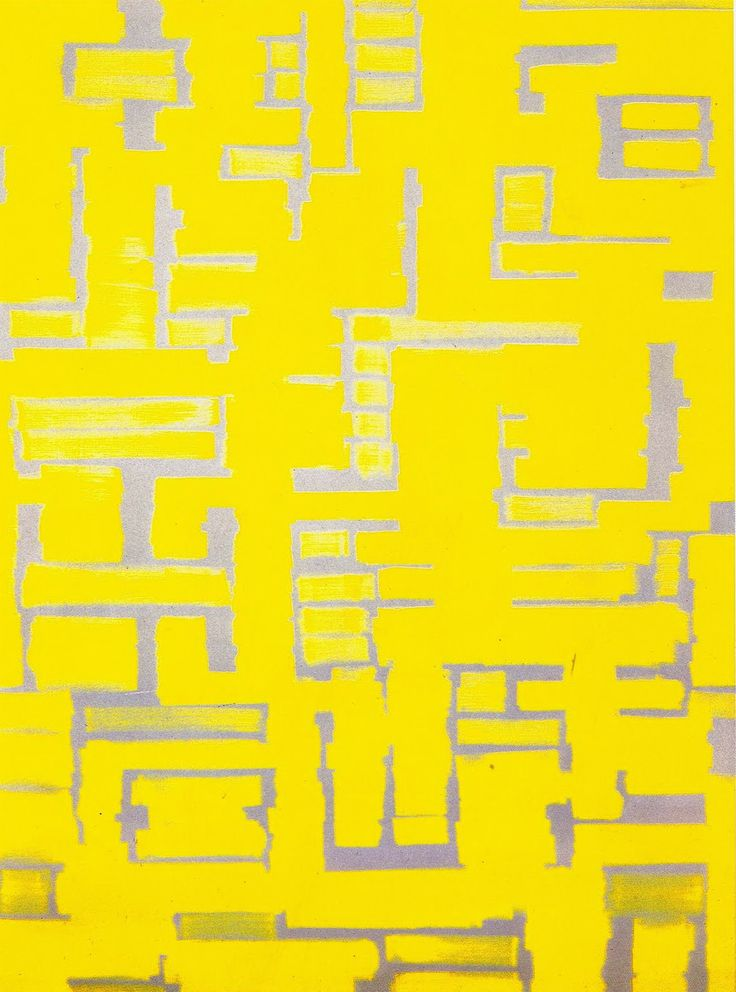 Untitled (Yellow and White), 1950 - Ad Reinhardt