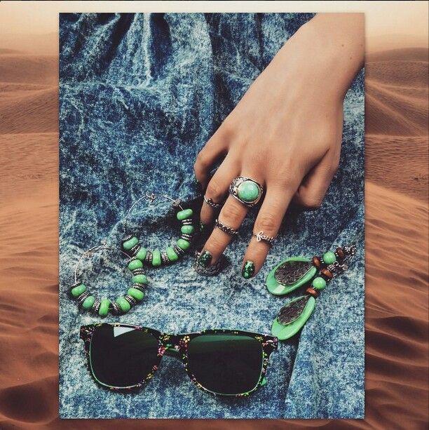 Splash nails by Ziggy Glitterdust