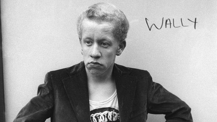 Wally, un punk de la Kings Road, Chelsea, Londres 1977.