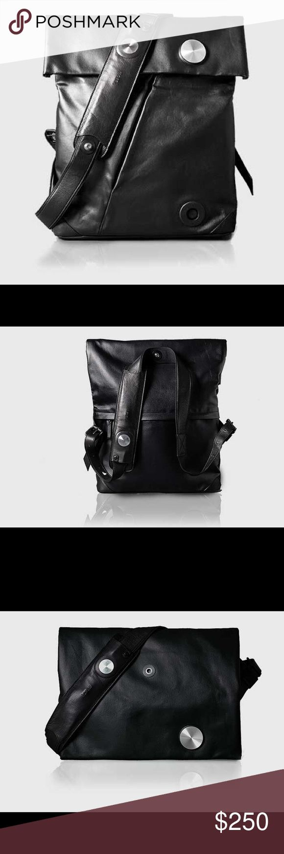 HiSmart convertible urban bag This bag is convertible from a backpack to a messenger bag. Connects to your smartphone thru the hismart app for photos, music, calls and more. Lepow Bags Messenger Bags