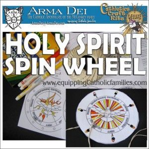 Pentecost holy spirit spin wheel craft free for for Holy spirit crafts for sunday school