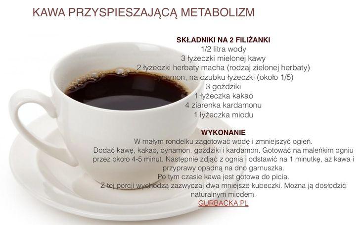 Kawa na przyspieszenie przemiany materii
