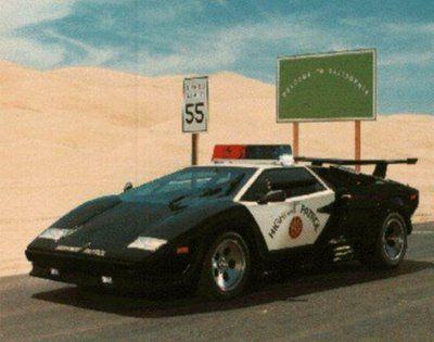 Lambo Police Car