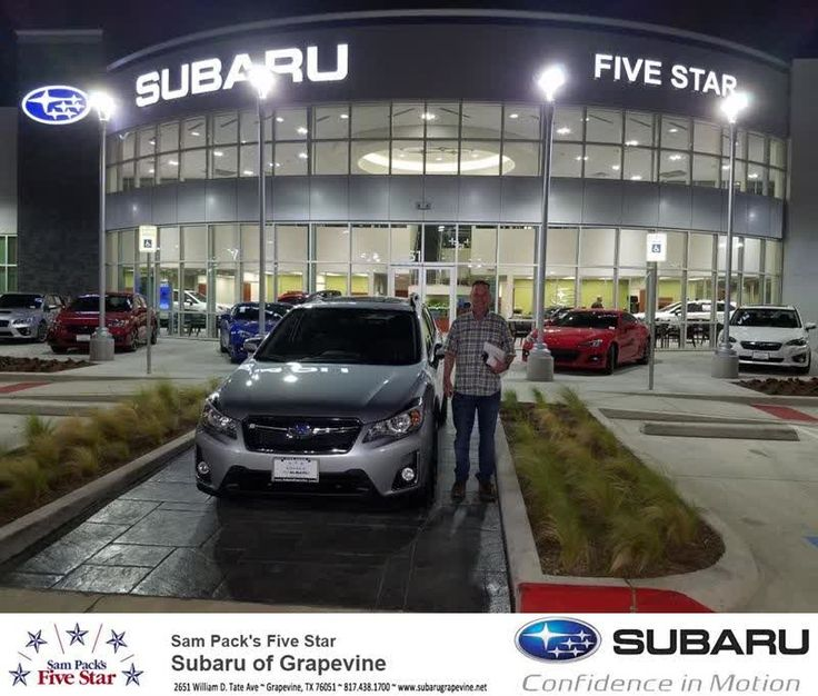 Congratulations Wallace on your #Subaru #Crosstrek from Sean Roberts at Five Star Subaru of Grapevine!  https://deliverymaxx.com/DealerReviews.aspx?DealerCode=M315  #FiveStarSubaruofGrapevine