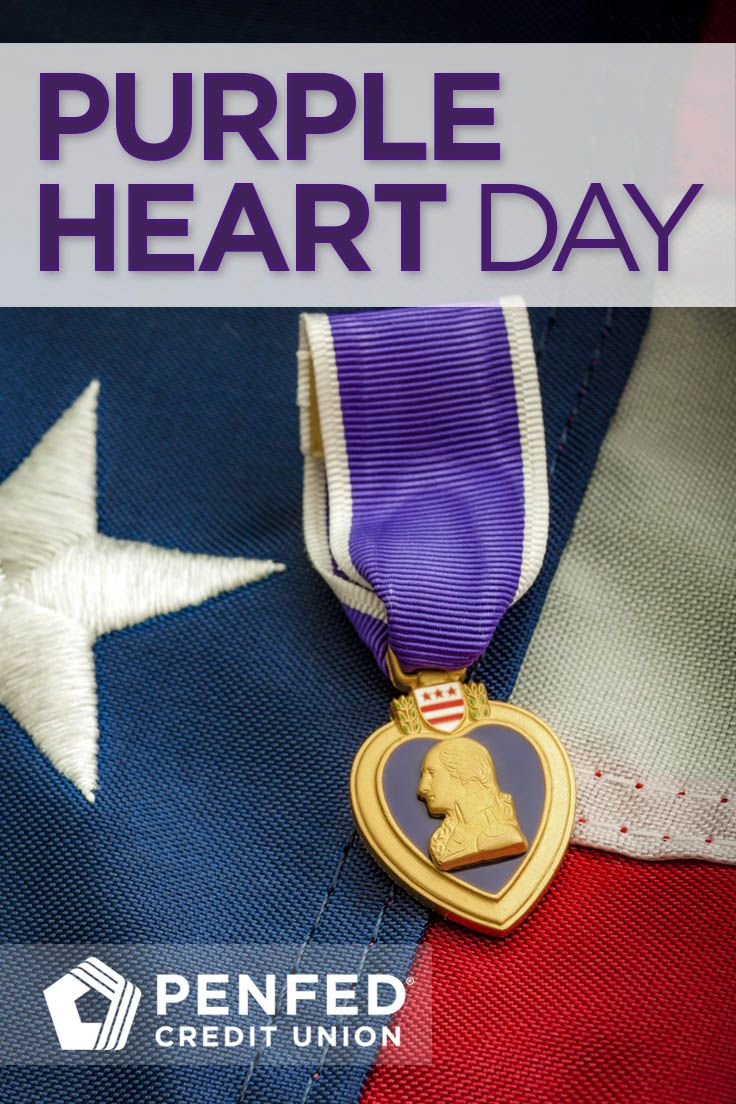 Join us in commemorating the sacrifices many brave members of the U.S. Armed Forces have made and the Purple Heart Medal awarded as a result of their dedication #PurpleHeartDay