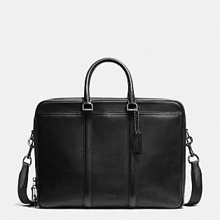 COACH Mens Leather Business Bags | Metropolitan Brief In Sport Calf Leather