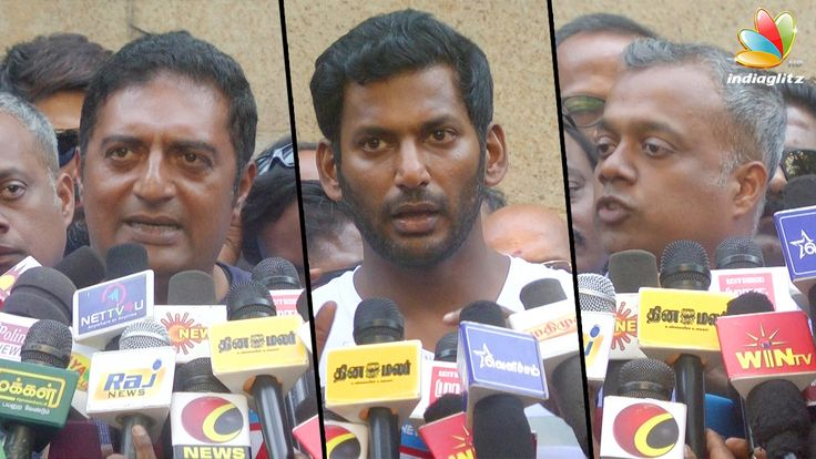 WHY Vishal Is Leading Our Team? | Producer Council Poll 2017 | Gautham Menon, Prakash RajVishal has been successfully maintained the secret about his team of members who will be contesting in the upcoming elections for the Tamil Film Produ... Check more at http://tamil.swengen.com/why-vishal-is-leading-our-team-producer-council-poll-2017-gautham-menon-prakash-raj/