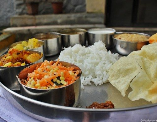 South Indian Thali   A full meal   Indian Thaali ideas & Recipes