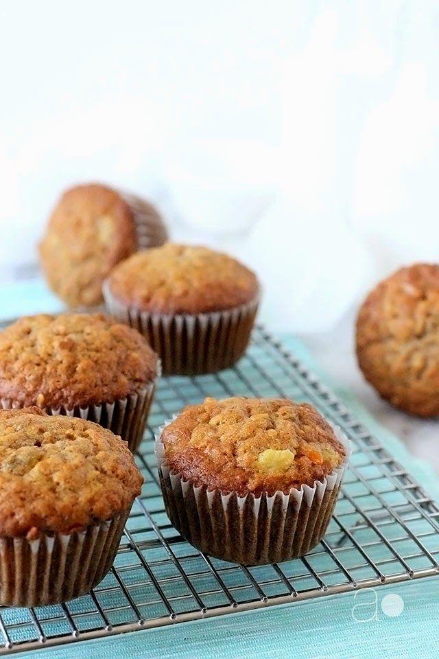 Ambrosia Loaded Carrot Muffins Muffin Recipes
