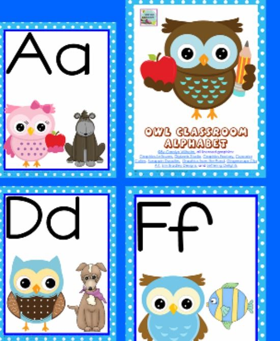 5 free printable word wall alphabet cards alphabet cards on word wall id=36698