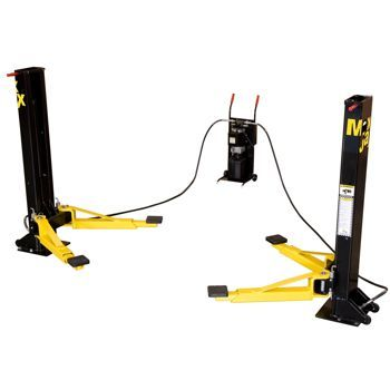 Dannmar MaxJax™ 2-post Portable Auto Lift